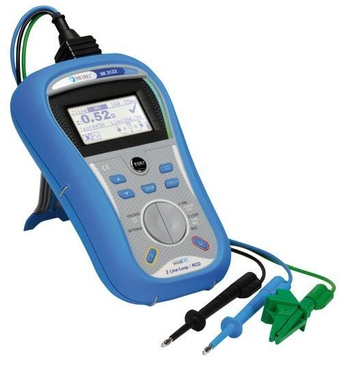 Metrel MI 3122 SMARTEC - измеритель полного сопротивления линии, контура и параметров УЗО
