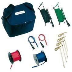 S2007 - комплект штырей и проводников для измерения сопротивления заземления в сумке, 50м.