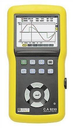 C.A 8230 - однофазный графический анализатор качества питания