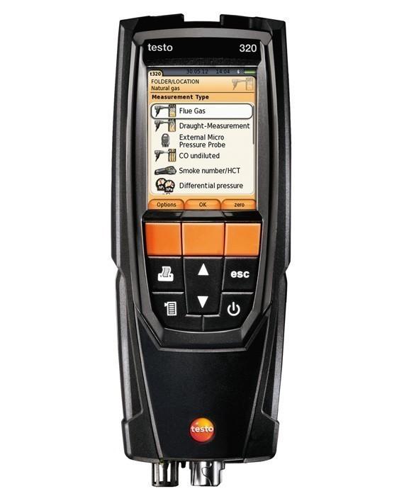 Комплект Testo 320 (0563 3224) без H2-компенсации