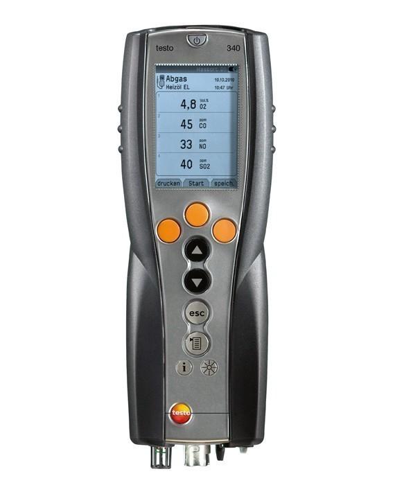 Testo 340 (0632 3340) газоанализатор