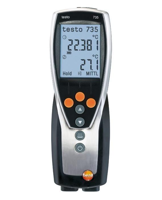 Testo 735-2 (0563 7352) надежный и компактный термометр
