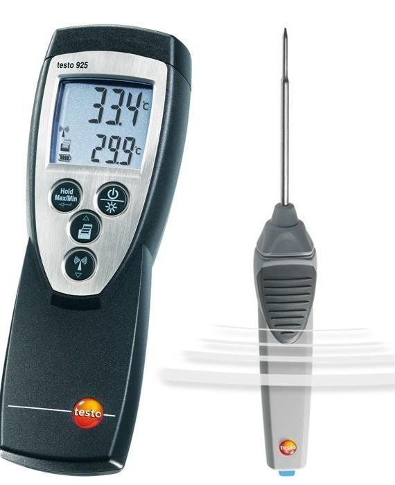 Testo 925 (0560 9250) - одноканальный термометр