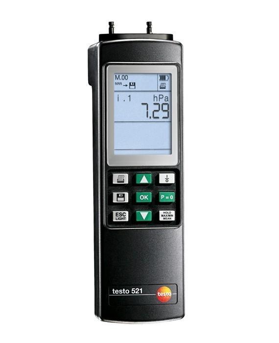 Testo 521-1 (0560 5210) дифференциальный манометр