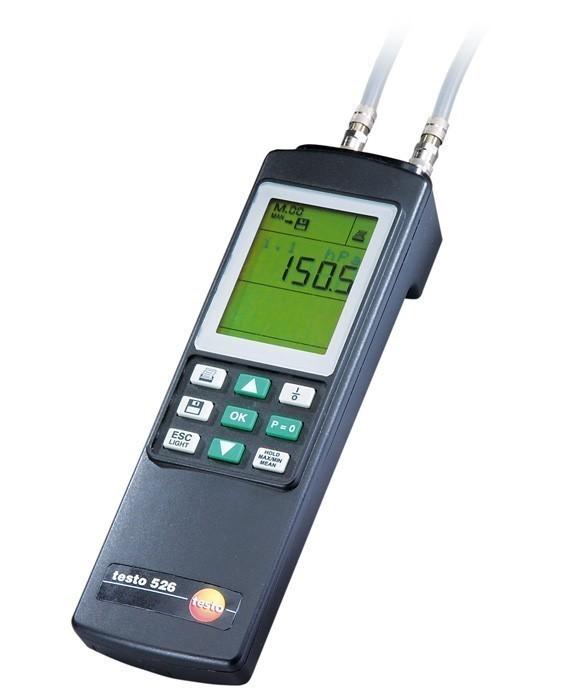 Testo 526-2 (0560 5281) - дифференциальный манометр