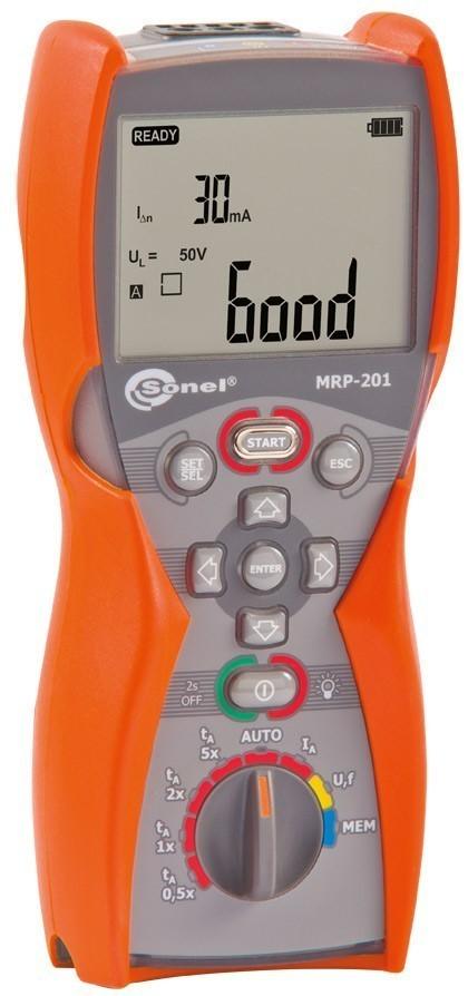 MRP-201 - измеритель напряжения прикосновения и параметров устройств защитного отключения