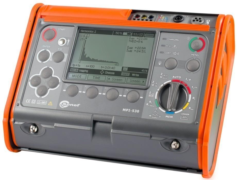 MPI-530 — измеритель параметров электробезопасности электроустановок