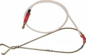СКБ023.21.00.000 — потенциальный пружинный контакт красный