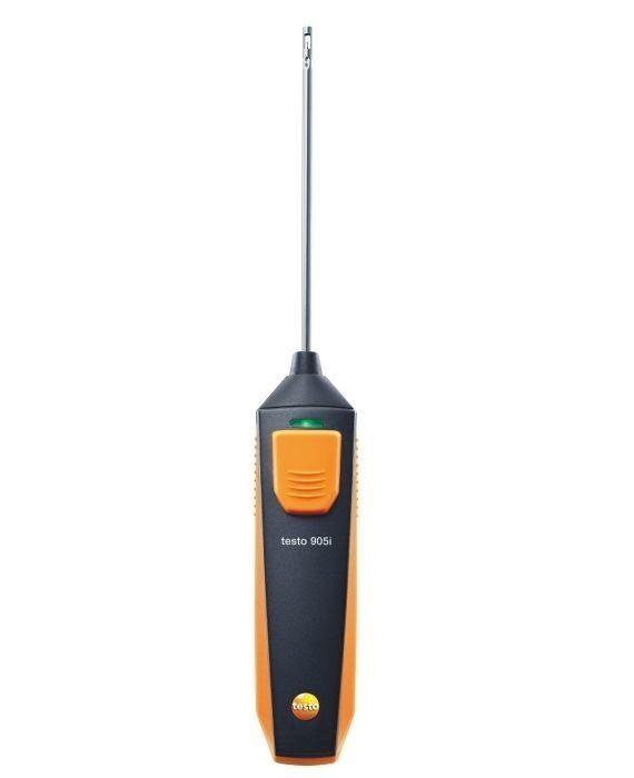 Смарт-зонд testo 905i (0560 1905) - термометр с Bluetooth, управляемый со смартфона или планшета
