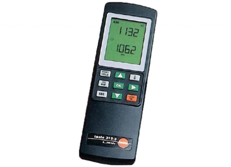 Testo 312-3 (0632 0314) - прочный манометр с диапазоном измерения до 300/6000 гПа