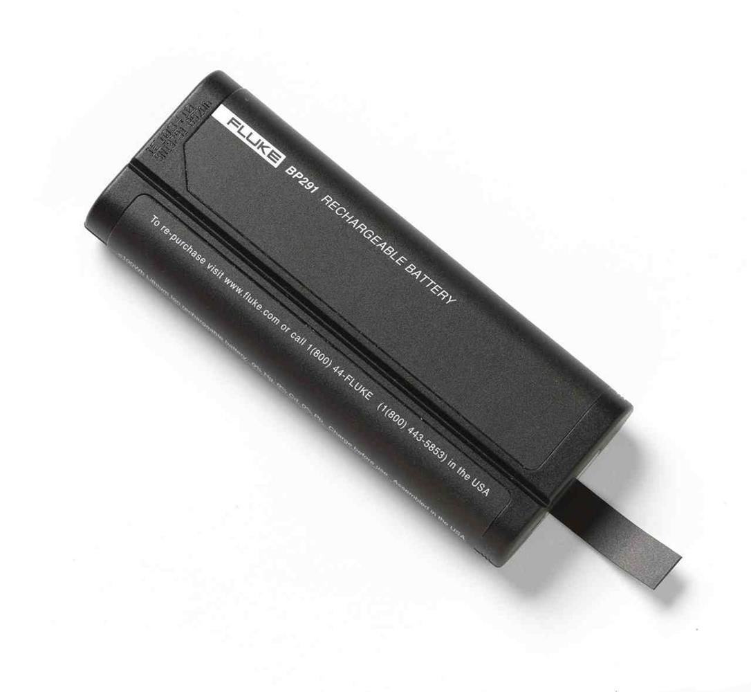 BP291 — аккумулятор повышенной емкости для Fluke 190 Series II и 430 Series II meters