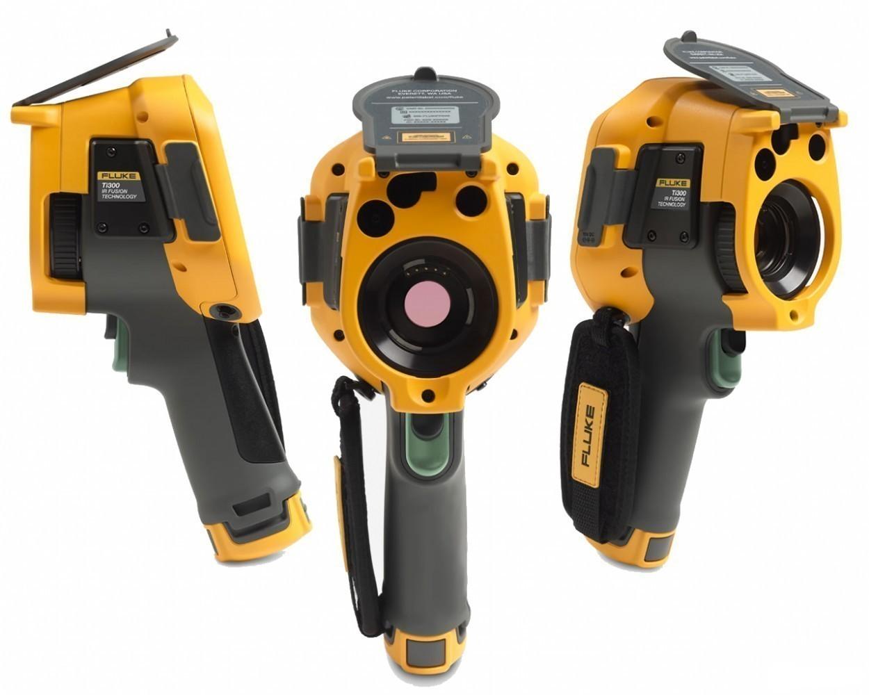 Fluke Ti300 — тепловизор с системой автофокусировки LaserSharp и беспроводным подключением