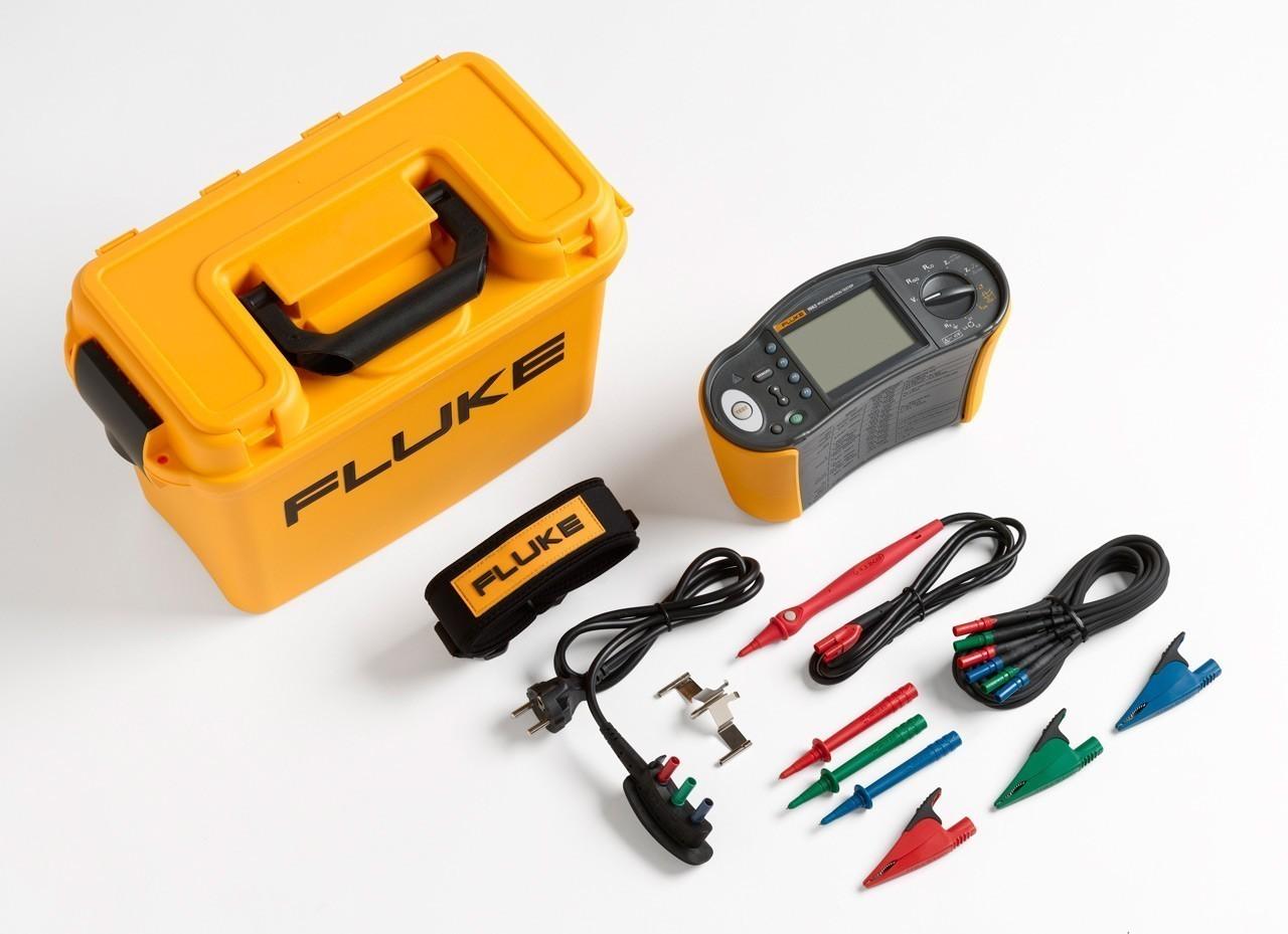 Fluke 1663 — многофункциональный тестер электроустановок