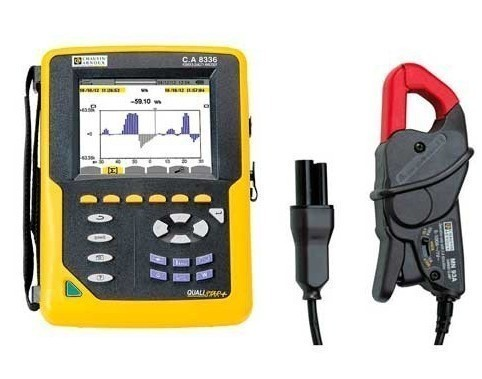 C.A 8336 QUALISTAR PLUS+MN93A — анализатор параметров электросетей, качества и количества электроэнергии (с клещами MN93A)