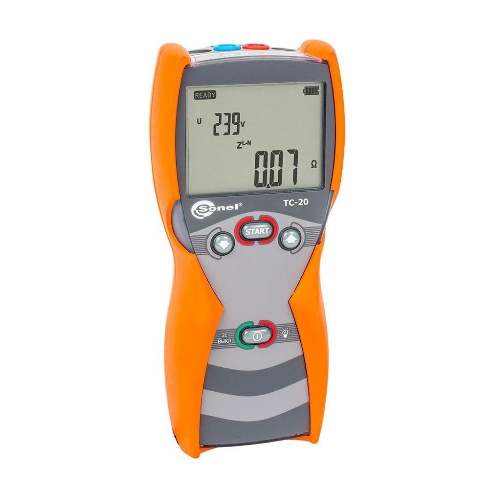 TC-20 — измеритель параметров петли короткого замыкания