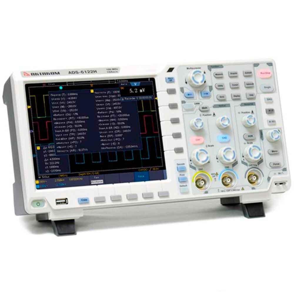 ADS-6062H — осциллограф цифровой (12 бит)