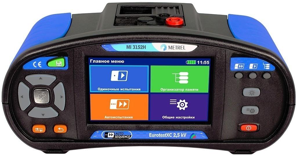 MI 3152H PROF — многофункциональный измеритель параметров электроустановок (профессиональная комплектация)