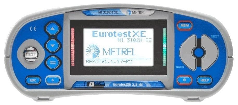 MI 3102H BT PROF — многофункциональный измеритель параметров электроустановок (профессиональная комплектация)