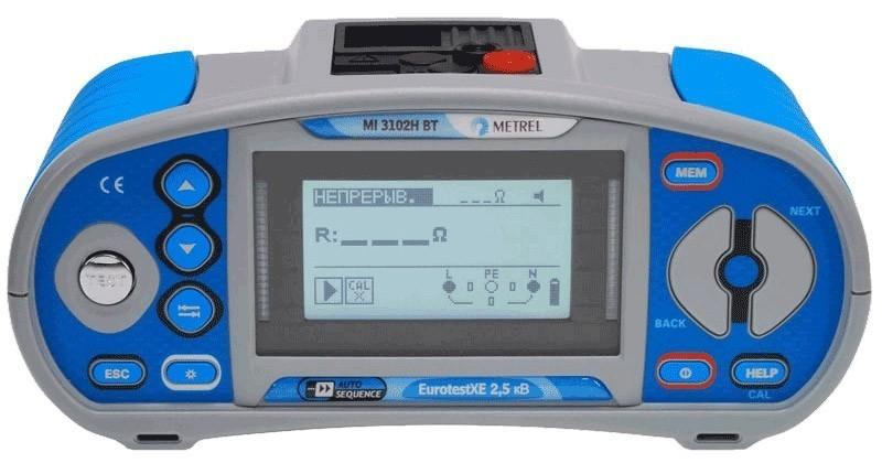 MI 3102H BT PROF PLUS — многофункциональный измеритель параметров электроустановок (профессиональная комплектация плюс)