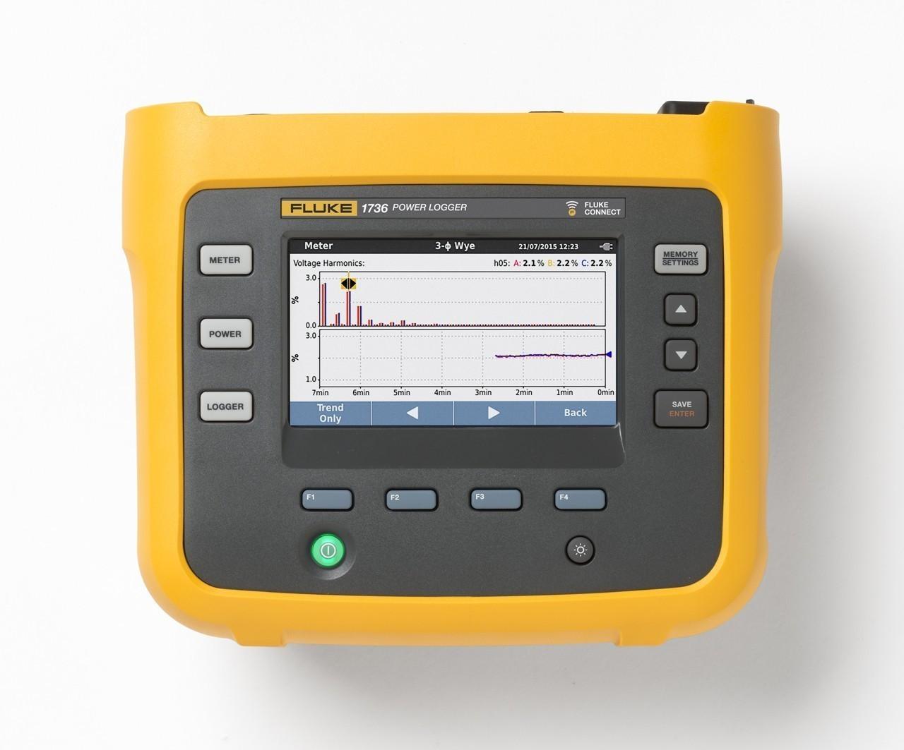 Fluke 1736 — регистратор качества электроэнергии для трехфазной сети