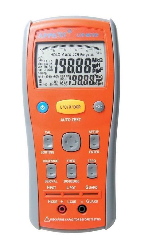 APPA 701 — цифровой портативный измеритель параметров RLC