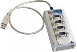 Марс-Энерго USB-4RS232 (USB-4COM) — преобразователь интерфейса