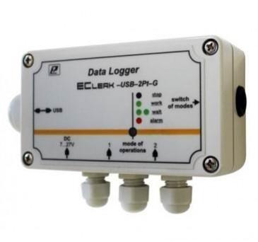 Промышленный регистратор температуры EClerk-USB-2Pt-G