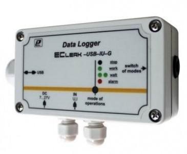 Регистратор сигналов тока и напряжения EClerk-USB-IU-G