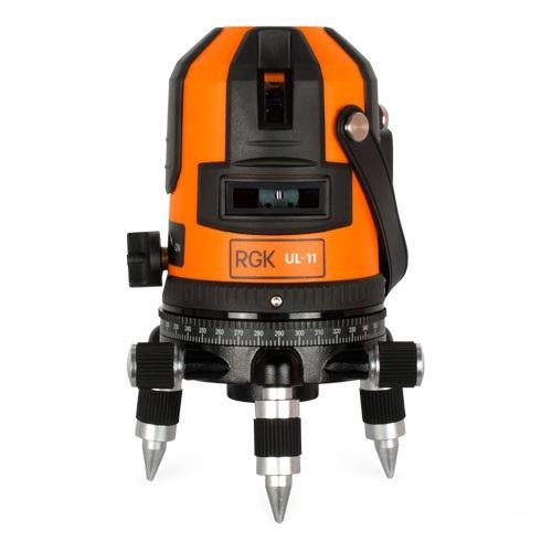 RGK UL-11 — лазерный нивелир
