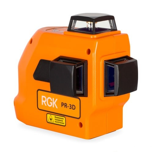 RGK PR-3D — лазерный нивелир