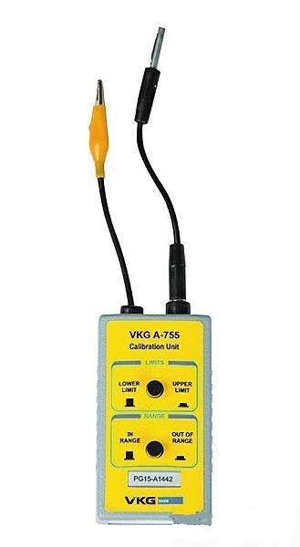 VKG A-755 — калибратор для тестер-стенда А-750