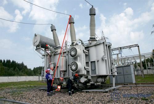 СКБ110.41.00.000-02 — штанга-манипулятор (5,1 м) до 220кВ