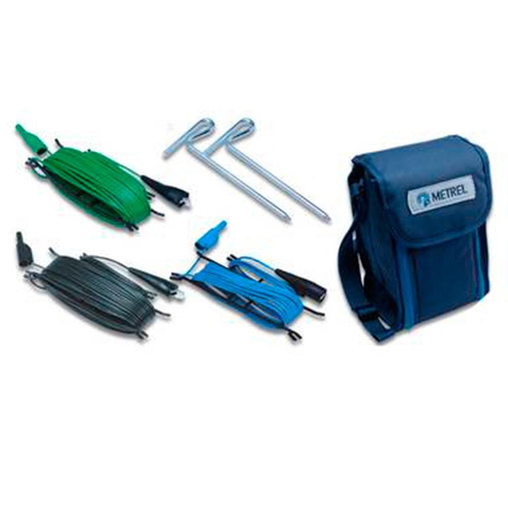 S2026 - комплект для измерения сопротивления заземляющих устройств по 3-х проводной схеме (штыри+провода 20м)
