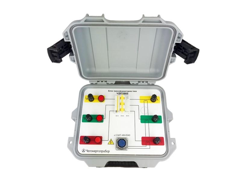 Блок трансформаторов тока ЧЭП3905 с соединительным кабелем ИВБ-БТТ — комплект для СЭИТ-4М-К540