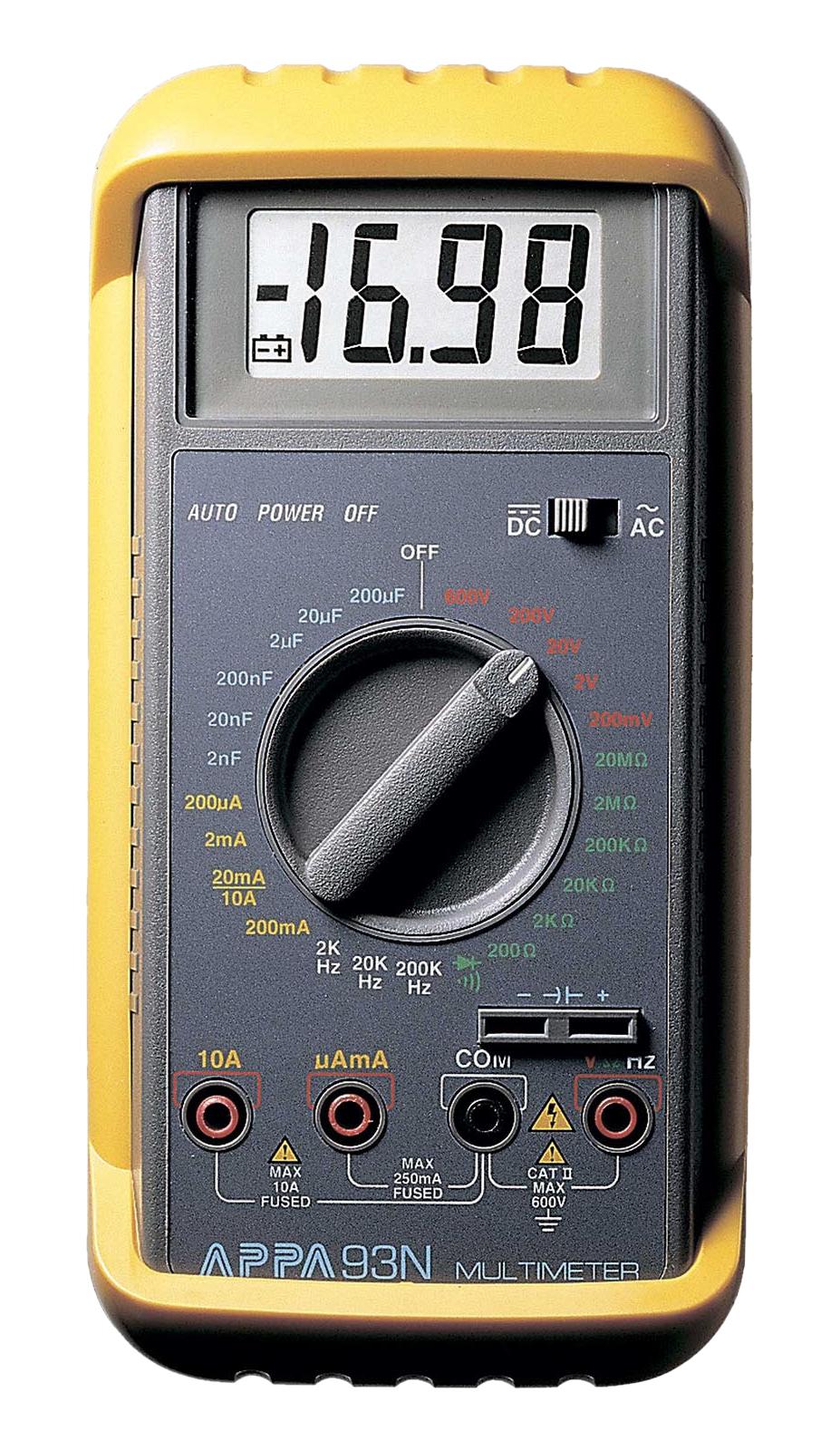 APPA 93N — мультиметр цифровой