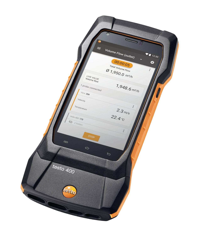 testo 400 (0560 0400) универсальный измерительный прибор для контроля микроклимата