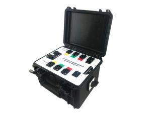 ЧЭП2320 — коммутатор для измерения сопротивлений обмоток трансформатора поочередно по трем фазам в двухканальном режиме вместе с комплектом проводов