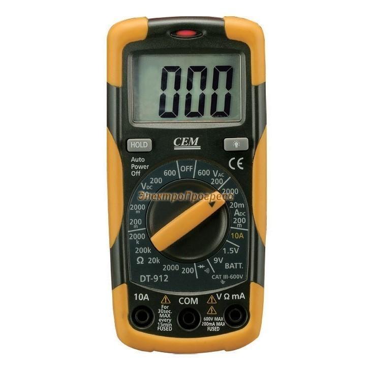 DT-912 - тестер-мультиметр