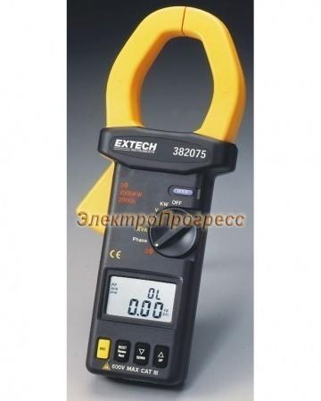 Extech 382075 - 3-х фазный True RMS анализатор на базе токоизмерительных клещей