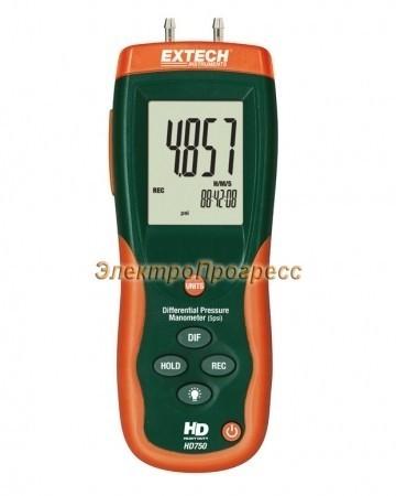 Extech HD750 - Дифференциальный манометр