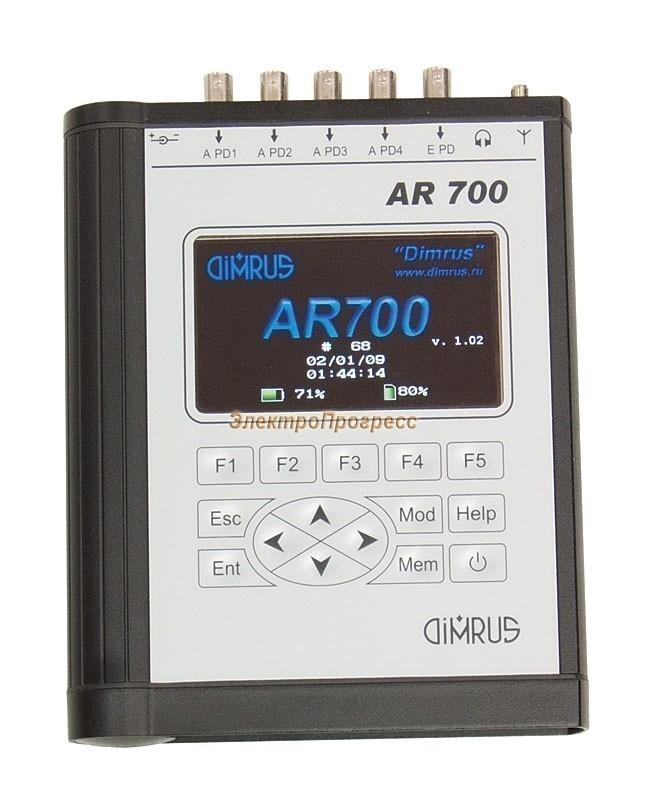 AR700 - прибор для анализа частичных разрядов и локации зоны дефекта в изоляции трансформатора