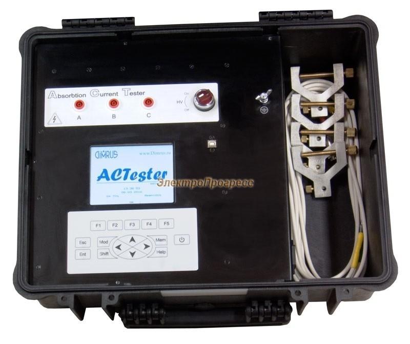 ACTester - прибор контроля состояния и оценки остаточного ресурса изоляции