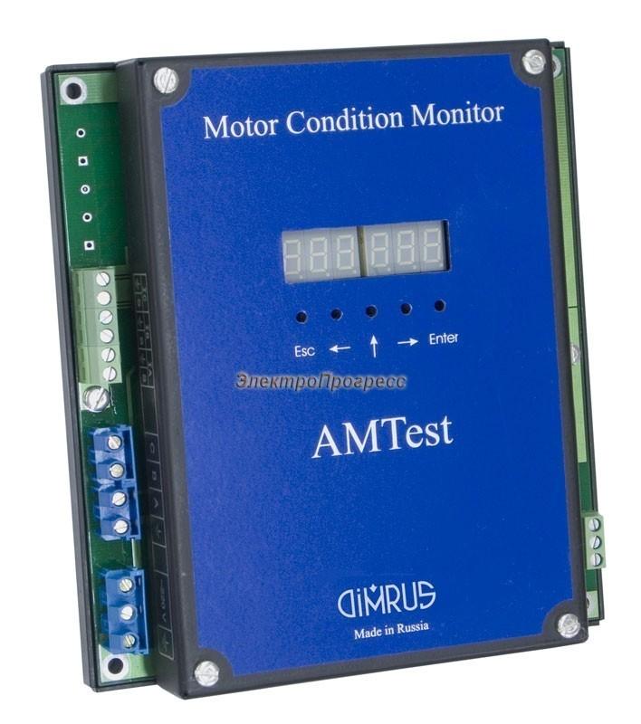 AMTest - прибор защиты, управления и диагностики электродвигателей и механизмов