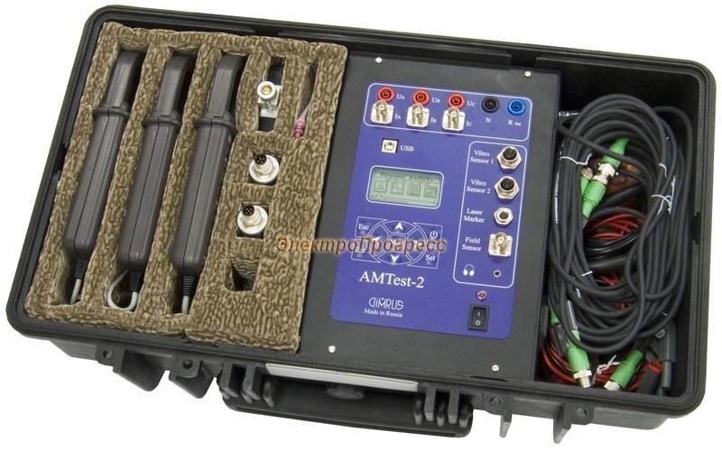 AMTest-2 - прибор диагностики состояния электрических машин переменного и постоянного тока