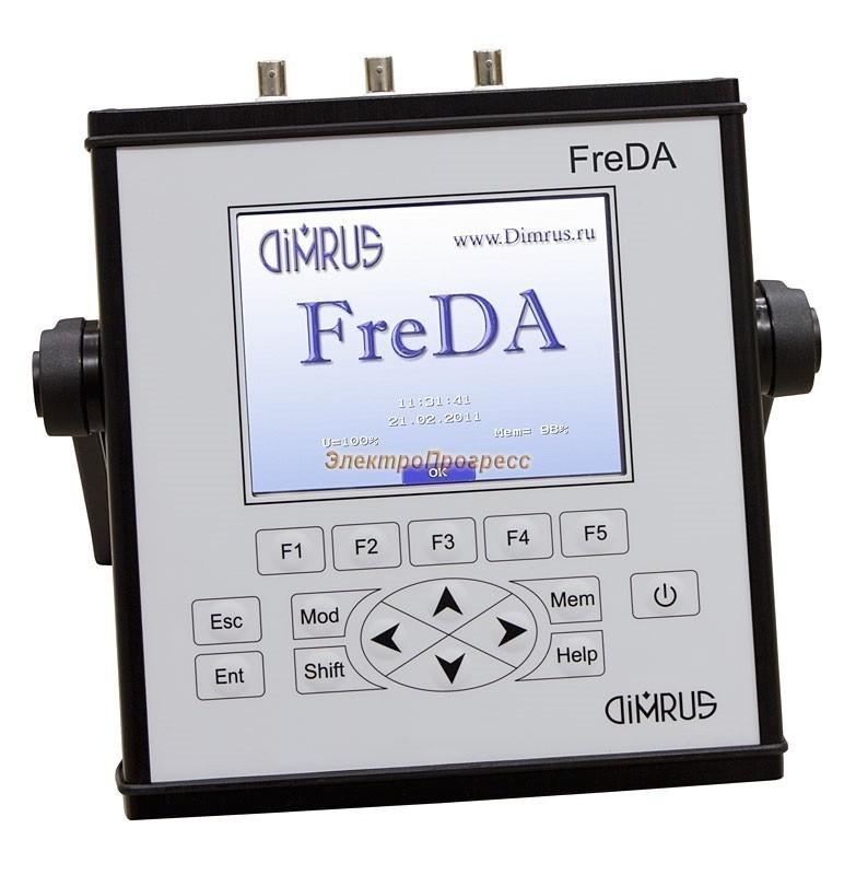 FreDA - переносной прибор для анализа частотных характеристик изоляции высоковольтного оборудовани