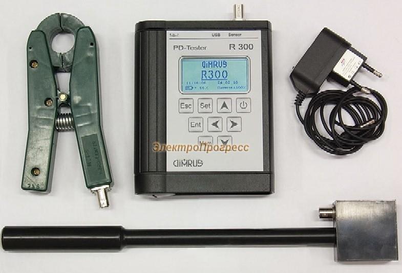 R300 - поиск зоны дефектов в изоляции статора генераторов и высоковольтных электродвигателей