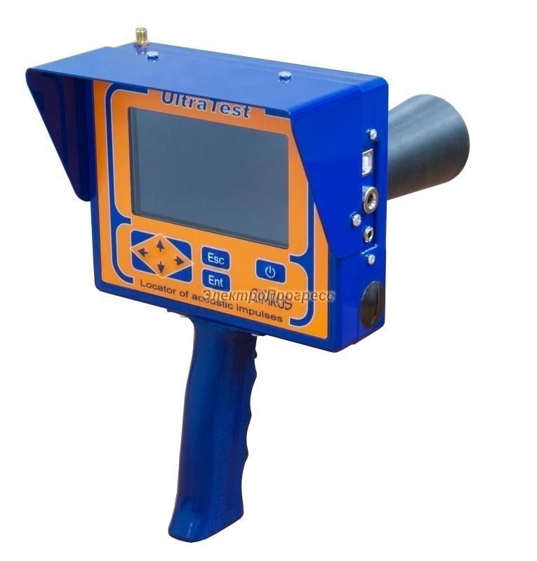 UltraTest - переносной прибор для акустической регистрации сигналов от частичных разрядов
