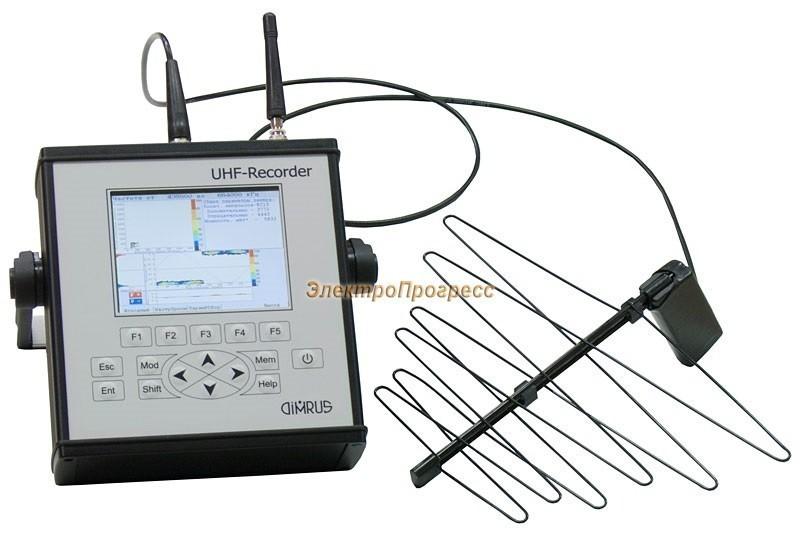 UHF-Recorder - переносной прибор для регистрации импульсов частичных разрядов в СВЧ диапазоне