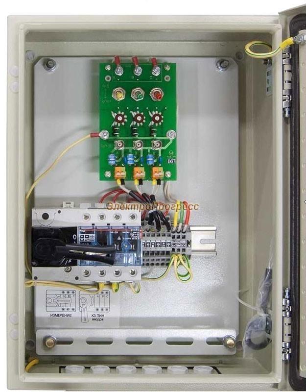UP-500 – устройство присоединения для оперативного контроля параметров высоковольтных вводов