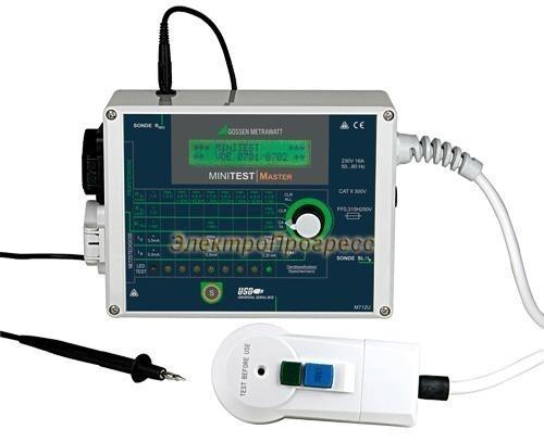 MINITEST MASTER тестер параметров безопасности электрооборудования